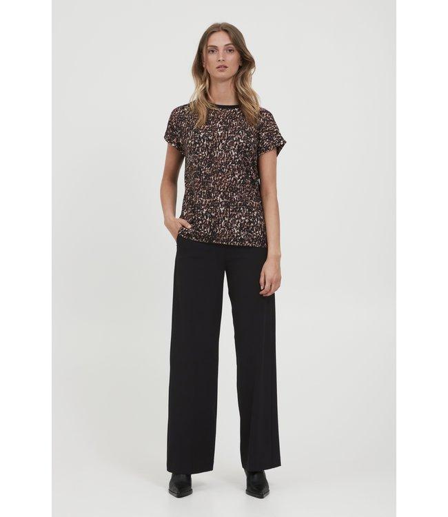 BYDANTA Wide Leg Pants - Black