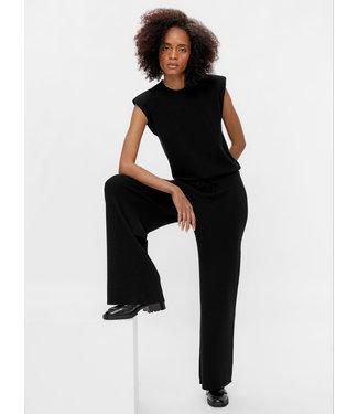 Object OBJDEVOE Knit Pants - Black