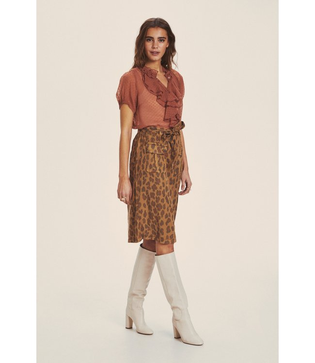 CRHannelore Skirt - Toasted Leo