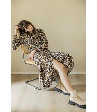 b.young BYFIONNA Dress - Ochre Mix