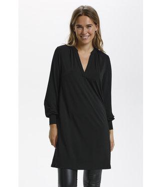 Kaffe KAmalli Jersey Dress - Black