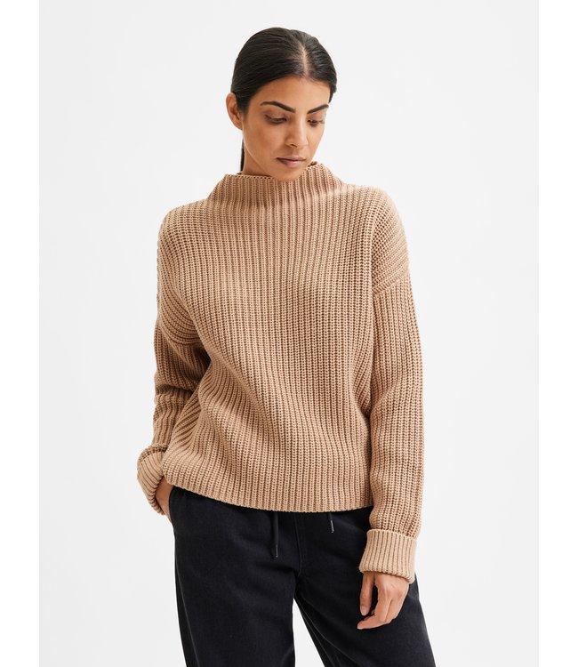 SLFSELMA Knit Pullover - Amphora