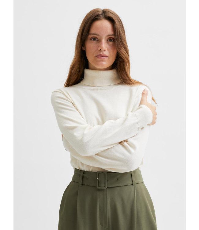 SLFNYLA Knit Roll Neck - Birch