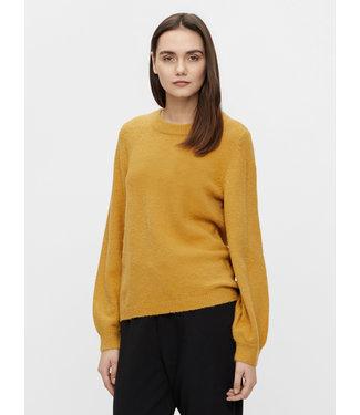 Object OBJEVE NONSIA Knit Pullover - Honey Mustard
