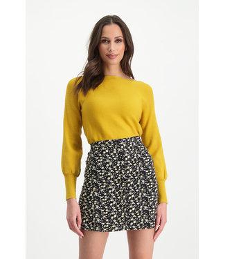 Lofty Manner Skirt Marly - White Black