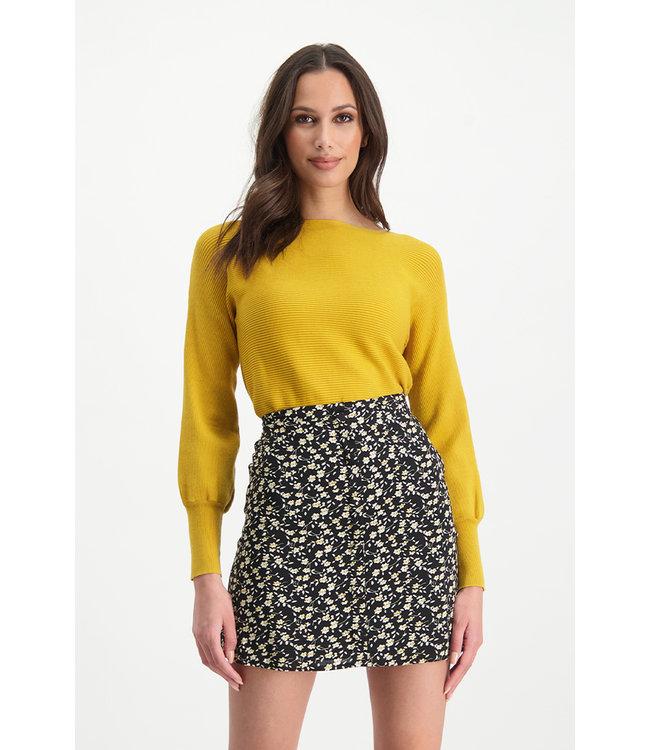 Skirt Marly - White Black