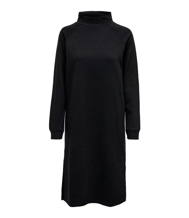 JDYLUCY Life Raglan Sweat Dress - Black