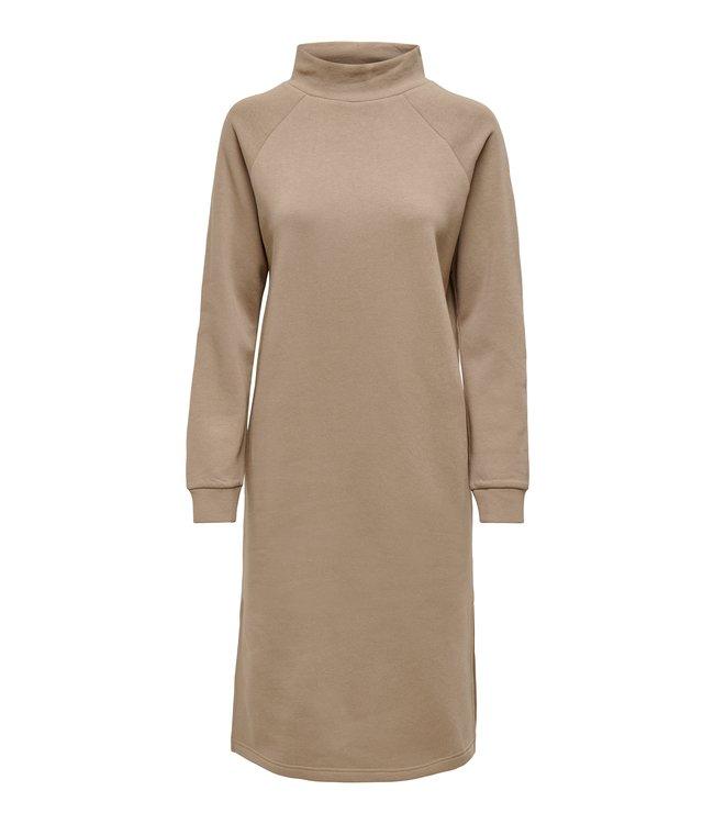 JDYLUCY Life Raglan Sweat Dress - Portabella