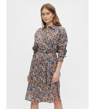 Object OBJPENELOPE Shirt Dress - Mazarine Blue