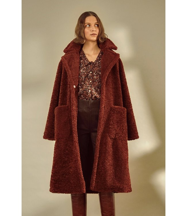 BYCANTO Coat - Brandy Brown