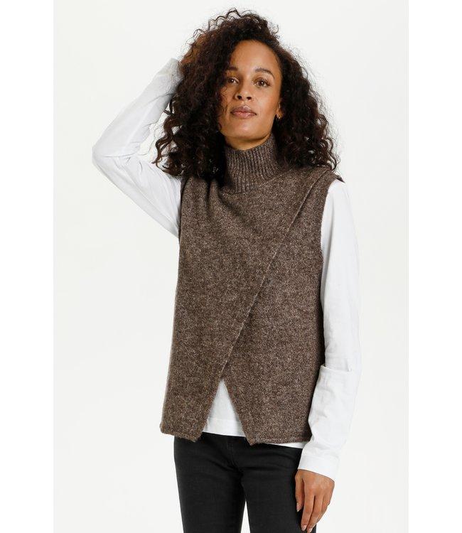KAtaris Knit Vest - Shopping Bag Melange