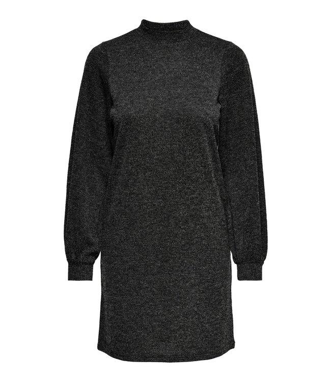 JDYEMMA High Neck Dress - Dark Grey Melange