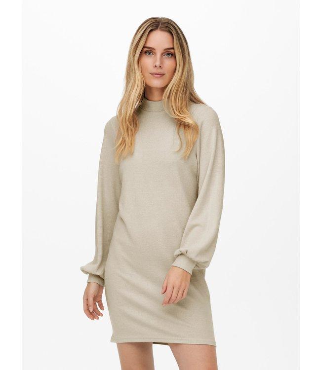 JDYEMMA High Neck Dress - Oatmeal Melange