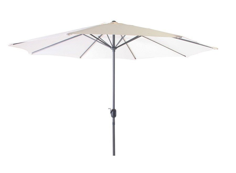SenS-line parasol Salou Ø300cm - Ecru