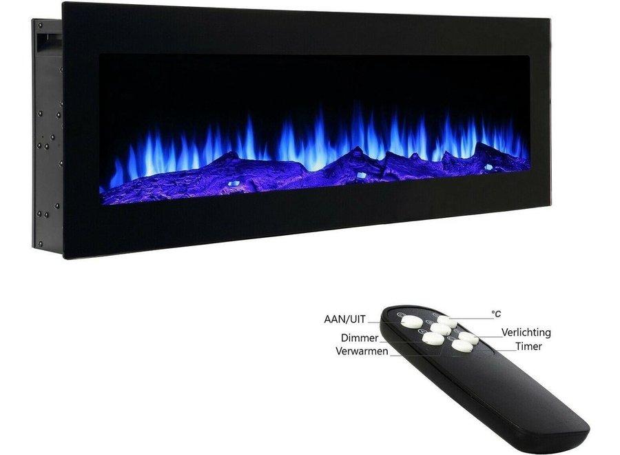 El Fuego elektrische LED haard Lausanne 101cm 900/1800 W