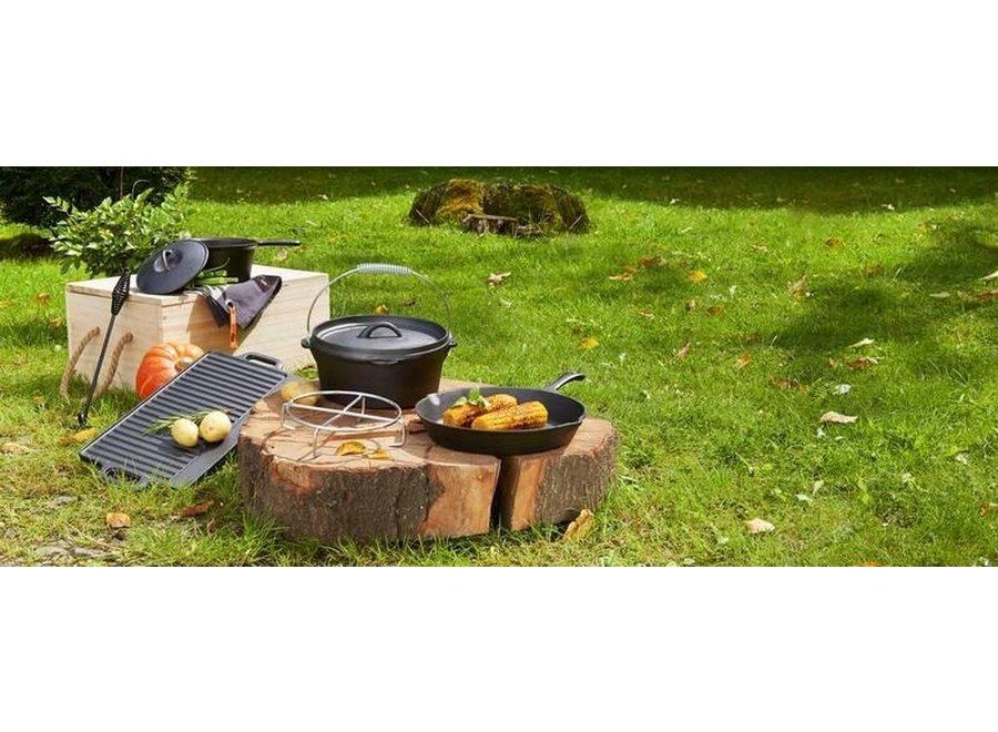 EL Fuego Dutch oven set gietijzer 7-Delig