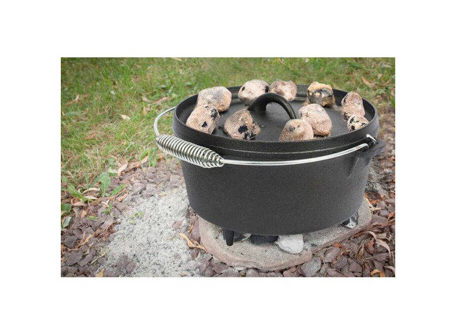 EL fuego Dutch Oven Pan gietijzer - 8,46L