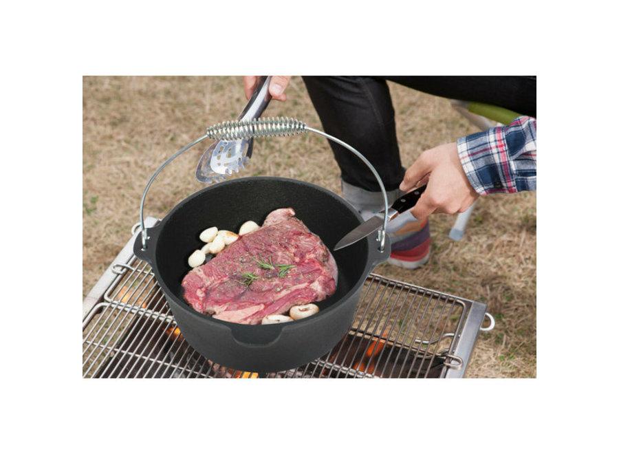EL fuego Dutch Oven Pan gietijzer - 11,28L