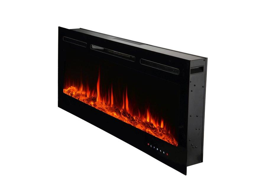 """EL Fuego elektrische inbouw sfeerhaard """"Mont Blanc"""" 178cm"""