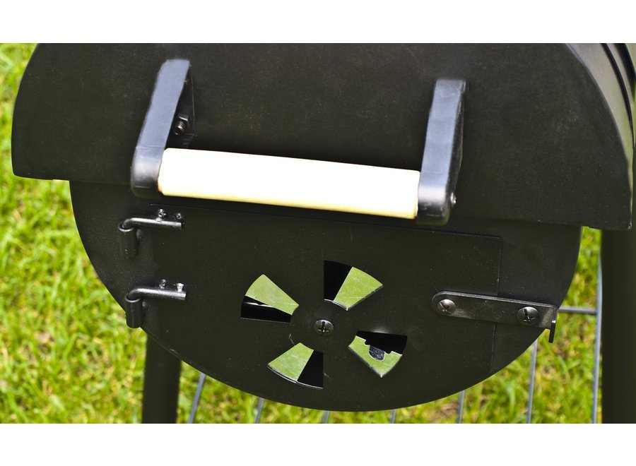 "Houtskool barbecue /Smoker ""Dakota"""