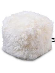 Extreme Lounging Extreme Lounging Poef B-box Sheepskin White - 'FUR'