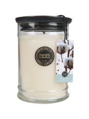 Bridgewater Candle Company Bridgewater Geurkaars Jar Large White Cotton