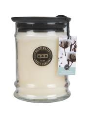 Bridgewater Bridgewater Geurkaars Jar Small White Cotton