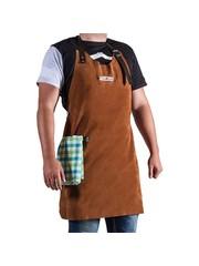 CookKing CookKing Leren Schort