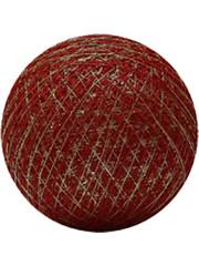 Cotton Ball Lights Cotton Ball Lights Gold Red klein