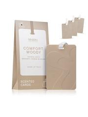 Mr & Mrs Fragrance Mr&Mrs Fragrance Scented cards for drawers Set van 3 Comfort Woody