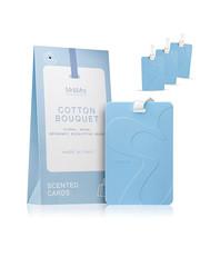 Mr & Mrs Fragrance Mr&Mrs Fragrance Scented cards for drawers Set van 3 Cotton Bouquet