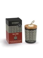 Esteban Esteban Geurkaars Decoratief Teck & Tonka