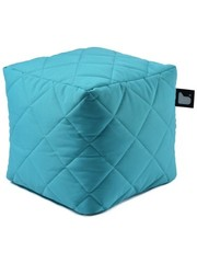 Extreme Lounging Extreme Lounging Poef B-box Quilted Turquoise