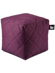 Extreme Lounging Extreme Lounging Poef B-box Quilted Paars