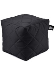 Extreme Lounging Extreme Lounging Poef B-box Quilted Zwart