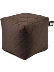 Extreme Lounging Extreme Lounging Poef B-box Quilted Bruin