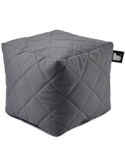 Extreme Lounging Extreme Lounging Poef B-box Quilted Grijs
