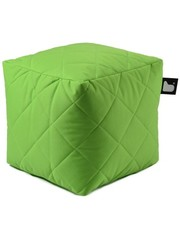 Extreme Lounging Extreme Lounging Poef B-box Quilted Lime