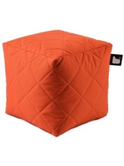Extreme Lounging Extreme Lounging Poef B-box Quilted Oranje