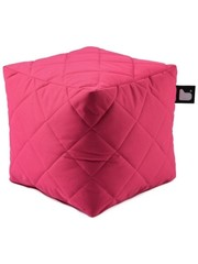 Extreme Lounging Extreme Lounging Poef B-box Quilted Roze