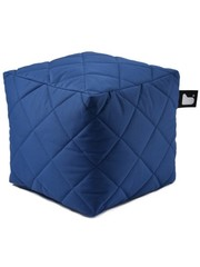 Extreme Lounging Extreme Lounging Poef B-box Quilted Royal Blauw
