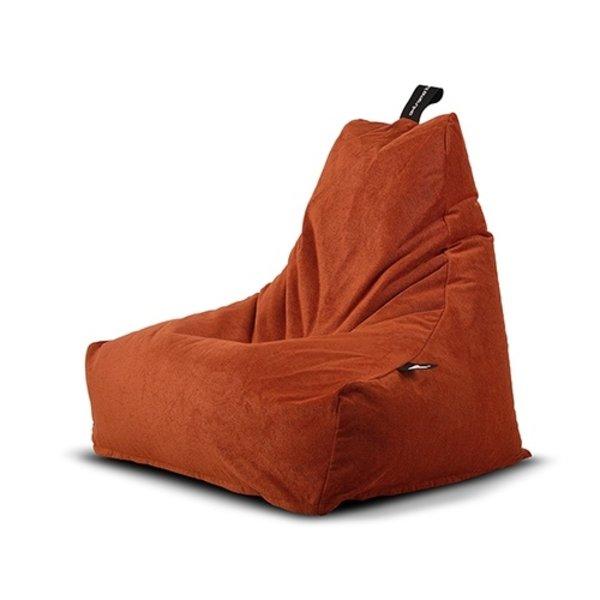 Extreme Lounging Extreme Lounging Zitzak B-Skin Mighty-b Orange - Living Fabric