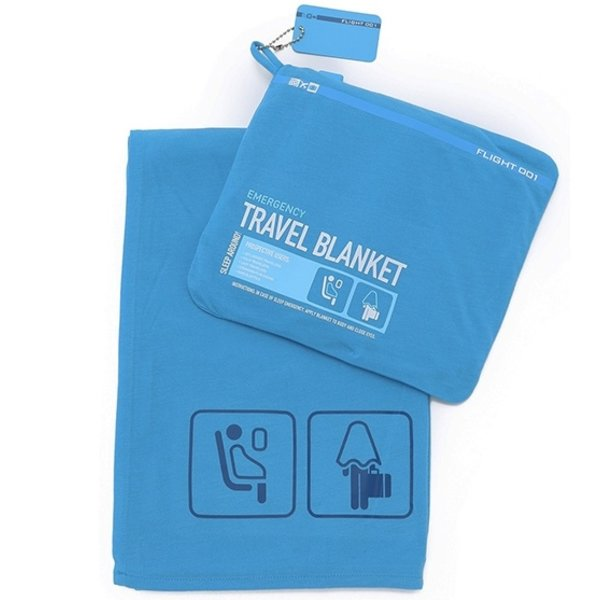 F1 F1 Travel Blanket Blue
