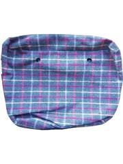 Fullspot Fullspot O bag Classic Binnentas Tartan Grigio