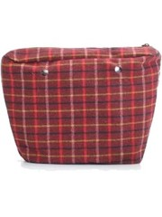 Fullspot Fullspot O bag Classic Binnentas Tartan Rosso