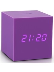Gingko Gingko Gravity Cube Clock Purple