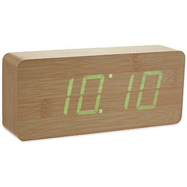 Gingko Gingko Slab Clock Groen