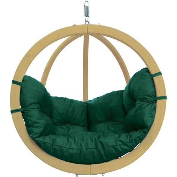 Amazonas Amazonas Hangstoel Globo Chair Green weatherproof