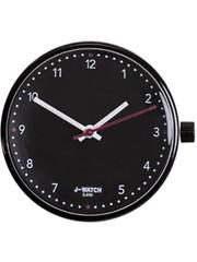 JU'STO JU'STO J-WATCH uurwerk Black