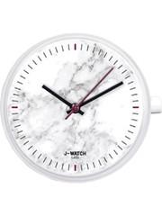 JU'STO JU'STO J-WATCH uurwerk White Marble